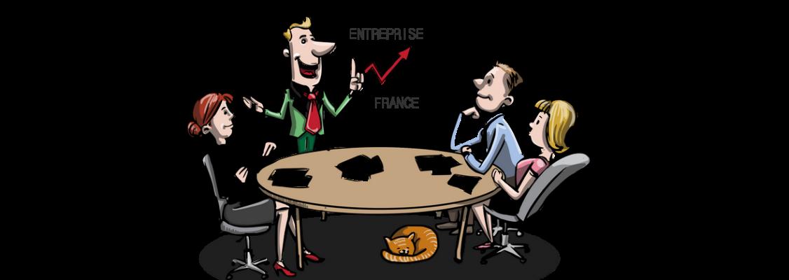 Le nombre d'entreprises en France