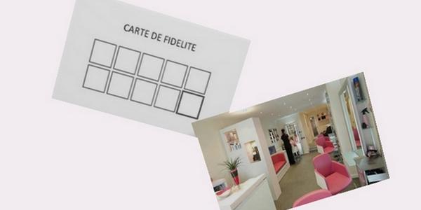 Création carte fidélité magasin, personnalisée sur mesure.