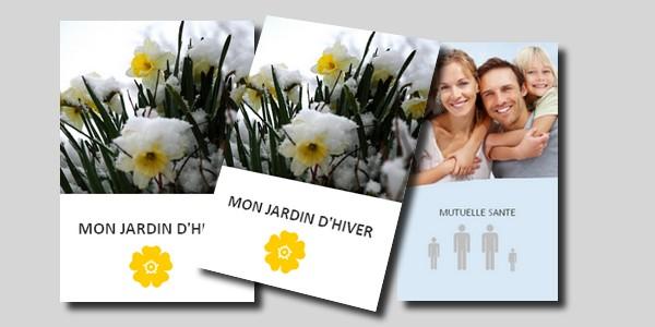 Documents commerciaux papier en-tête - flyer - enveloppe - plaquette commerciale