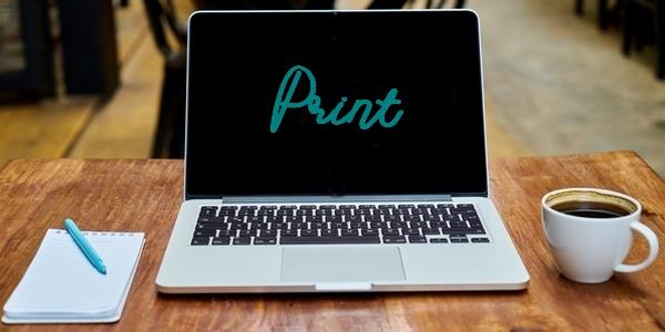 Rédaction de texte pour les supports de l'imprimerie